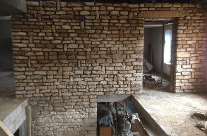 Construction mur sur Tryeux (54)